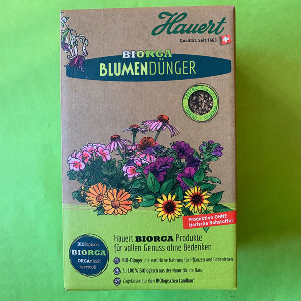 Blumendünger Biorga